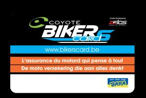 La Coyote Biker's Card